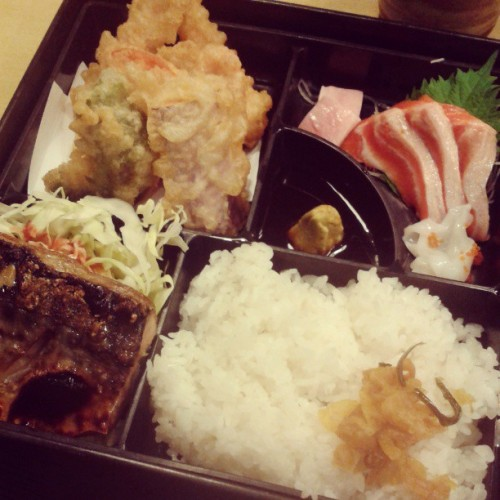 Satisfying thy craving for jap food. #dinner #food #sg #Japanese