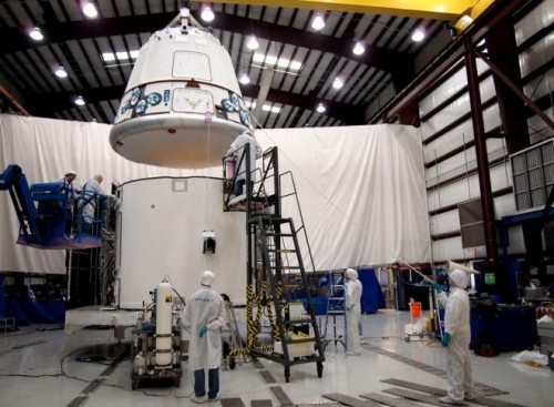 Space X is making final preparations for its second cargo flight to the International Space Station, currently scheduled for the end of next week. The flight is scheduled to lift off from Cape Canaveral in Florida on March 1, and is expected to carry about 1,500 pounds of cargo as part of NASA's Commercial Resupply Services contract.
