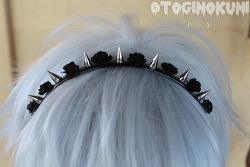 thunder-bunny:  Occult Headband $20