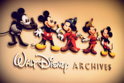 disneyfreak94:  Walt Disney Archives. by chris.alcoran on Flickr.