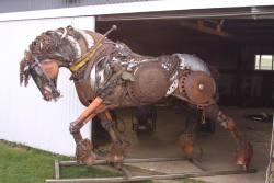 art sculpture horse steampunk steam punk metal work steampunk tendencies scrap metal Metal Art steampunk sculpture Steampunk Horse