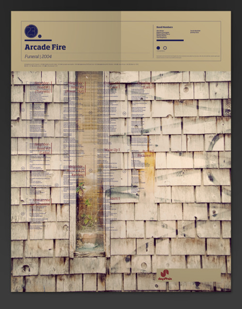 Arcade Fire - A visual Mixtape by Noa Emberson