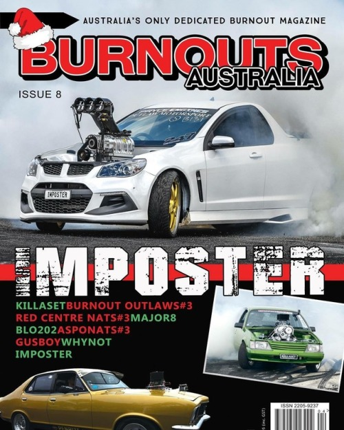 Out in newsagents early next week!! @burnoutsaustraliamagazine #dedicated #burnouts #mag #australia #awesome #christmas #stocking #filler http://ift.tt/2C9UO4h