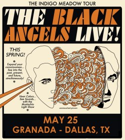 granadatheater:  GIVEAWAY ALERT: The Black Angels are giving away a pair of tickets to their upcoming show here. Head on over to their Facebook to see what's up.