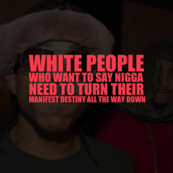 "blackpeopleproblems:  filmacademy:  blackpeopleproblems:  youretoomainstream:  paradiso-1993:  blackpeopleproblems:  ambassadorsarcasm:  I say nigga all the time. It's like a habit lol. I don't say it to offend anyone, I just like saying it.  but when you say it, you do offend people. -__-  ambassadorsarcasm, it's not your place to reclaim the word. Stop saying it, break the habit asap…  How about you all stop being butthurt bitches?? I can guarantee you 'nigga' hardly offends anyone. Seriously, I would know. Get your heads out of your fucking asses, you oversensitive, stuck-up, social justice pricks.  I like how you just classified a whole race of people based on one picture and your ignorant opinion. And, I know so many people that are offended by that word, so umm… Lastly, excuse me for being offended when white people call me ""nigga"" because yah know white people didn't enslave black people for hundreds of years or anything, and oh yah, they didn't treat them like animals or call them niggers either so, sorry for being so ""oversensitive"".  BTW: You are such a racist.   Ok. If its so fucking offensive then why do black people call eachother ""nigga"" you can't tell people to stop saying/doing something if you do it yourself. The change starts with you!  I don't use the word ""nigga""… So, I the change has already started. Most black people use the word because they feel it helps them reclaim it and make it less offensive. I don't think so, personally. But, I get the concept. So, no I don't use the word and I'm not being hypocritical."