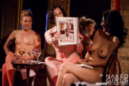 "Naked Girls Reading really cooks!  ""Hot Dishes"" from..."