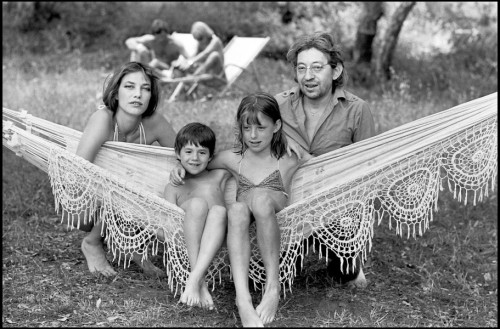 the perfect family. jane birkinSerge Gainsbourcharlotte gainsbourgkate barry