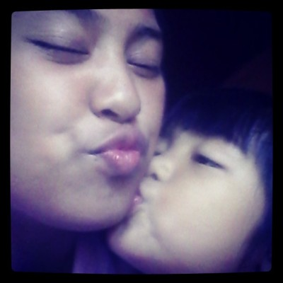 U git a Kiss from sofia :** (at San Gabriel Village, Tuguegarao City)