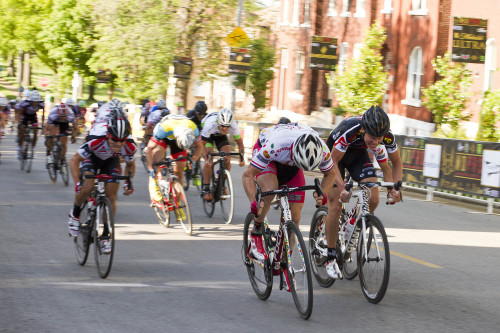 yhpargotohphotography:  Men's Pro Race @ Dutchtown Classic in St. Louis. MO on 5/12/2013.Final sprint with Brad Huff winning the race.