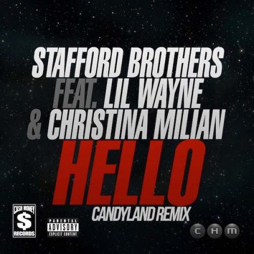 "Stafford Brothers - ""Hello"" ft. Lil Wayne & Christina Milian (Candyland Remix) It's almost impossible to listen to any cut by the powerhouse Dj duo Candyland without being a little in awe of their talent. Masters of their domain,  Candyland have dropped an official remix to the Stafford Brothers, Lil Wayne and Christina Milian collaboration ""Hello"" in anticipation of their upcoming EP, ""Bring the Rain"" on January 21st. Sporting filthy edits, insane wobbles and flawless vocal blends, ""Hello"" is truly a track that cannot be missed.  If you happen to love the track as you should, I'll slip in a couple other gems by Candyland for your listening pleasure, but by all means check them out on Soundcloud, there is not one let down present."