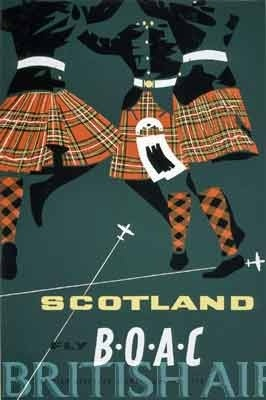 wildeyedsoutherncelt:  Scotland vintage travel poster