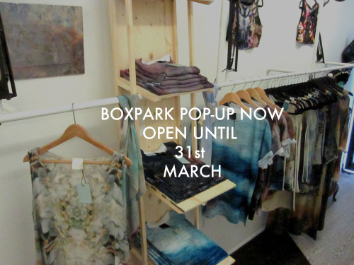REALLY happy to announce that the Secret EmporiumPOP-UP at Boxpark Shoreditch has been extended until 31st MARCH! Pop along to boxes 01, 02 & 03 to see my full collection and some great stuff by some truly awesome designers!