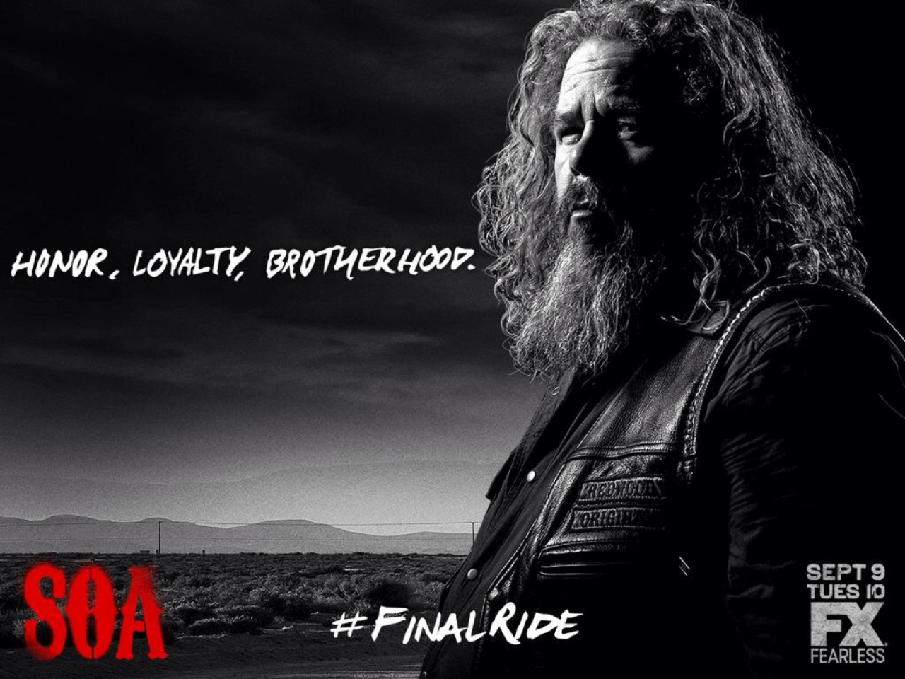 Big man. Big voice. Trusted advisor. The The Final Ride  SOA ❤️❤️❤️❤️❤️ – View on Path.
