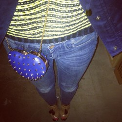 Shameless crotch shot #melodyehsani heart bag www.melodyehsani.com (at Melody Eh$ani Store)