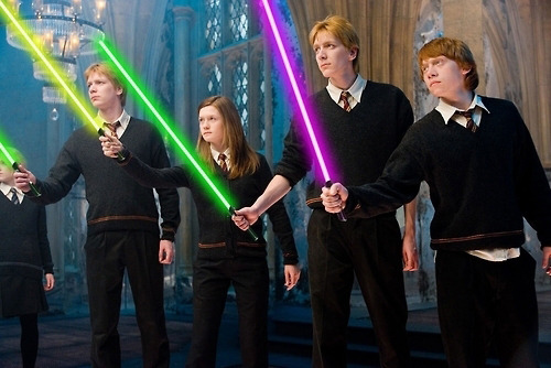 kent00tz:  The force is strong in the Weasley family.