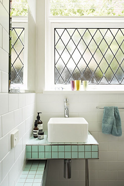 pastel tiles (via interiorsporn: via design sponge)