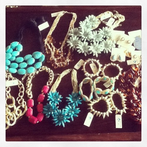 Just in!!! TONS of great new spring jewelry — all under $25 (most under $20)!!! #oldefieldsclothing #tallahassee #jewelry #spring #newarrivals #fashion #style