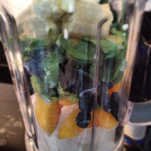 The stuff breakfasts are made of. #greensmoothies