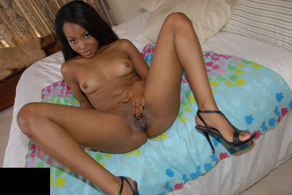 Naked black girl african american