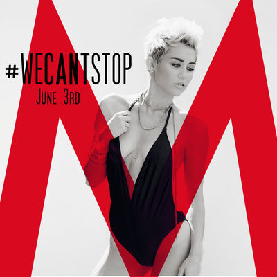 "beingmiley:  Miley's new single is called ""We Can't Stop"" and will be out in June 3rd. Worldwide premiere ""On Air with Ryan Seacrest""."