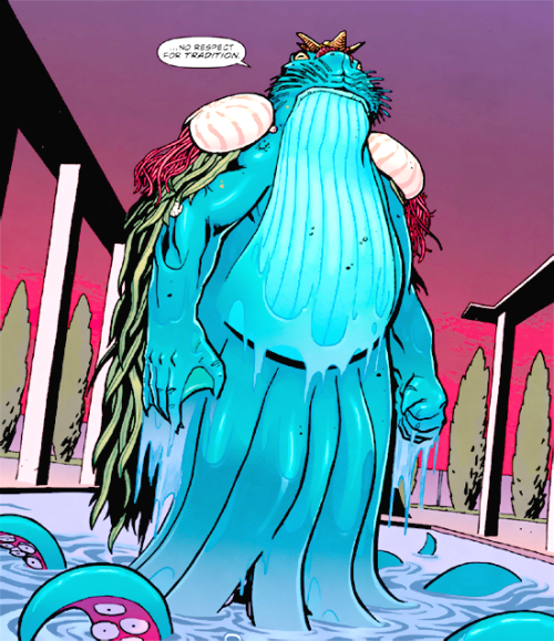 deepdelusion:  Poseidon from Wonder Woman issue 20. I really love his redesign.