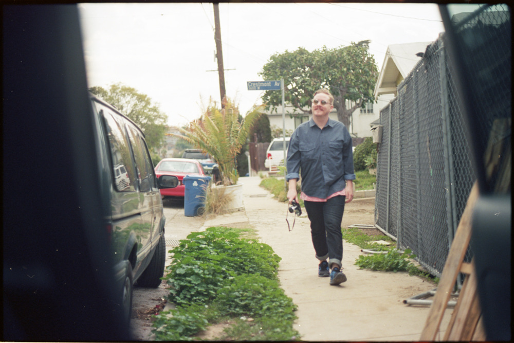nick vic strollin / 35mm silverlake / california / by kayven