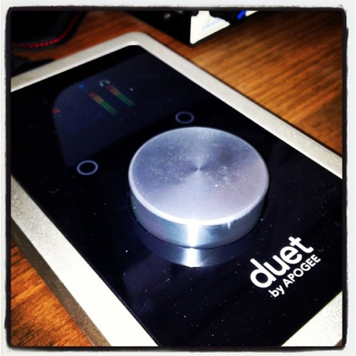 #apogee#duet#2#audio#interface#musik#studio#new#toy#powerful#ig#hiphop#listen#to#some#beats