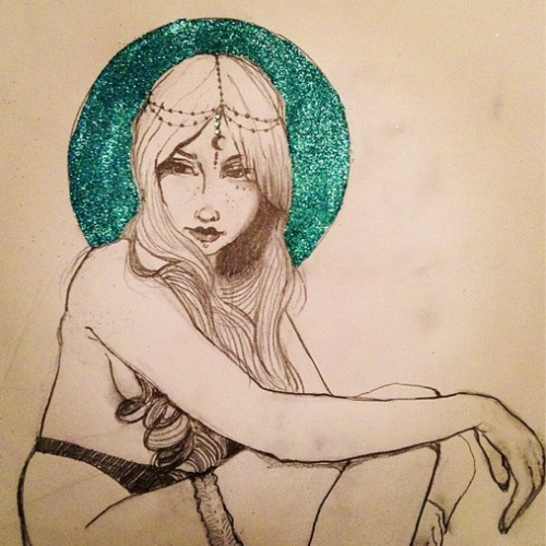 moon princess.   Drawing times. <3
