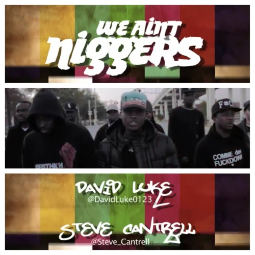 """You are not niggas"" -Dap (School Daze)  Steve Cantrell and David Luke - We Ain't Niggers   http://www.youtube.com/#/watch?v=bK6xG5-S2Wc&feature=youtube_gdata_player&desktop_uri=%2Fwatch%3Fv%3DbK6xG5-S2Wc%26feature%3Dyoutube_gdata_player"