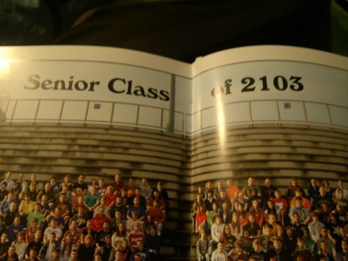 thatfunnyblog:      they fucked up the yearbook  no they didn't. surprise, you aren't graduating for 90 years  Funny Stuff you like?