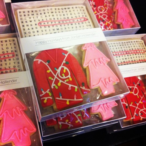 Corporate Gift: Custom Cookie Gift Box #tmbcookies