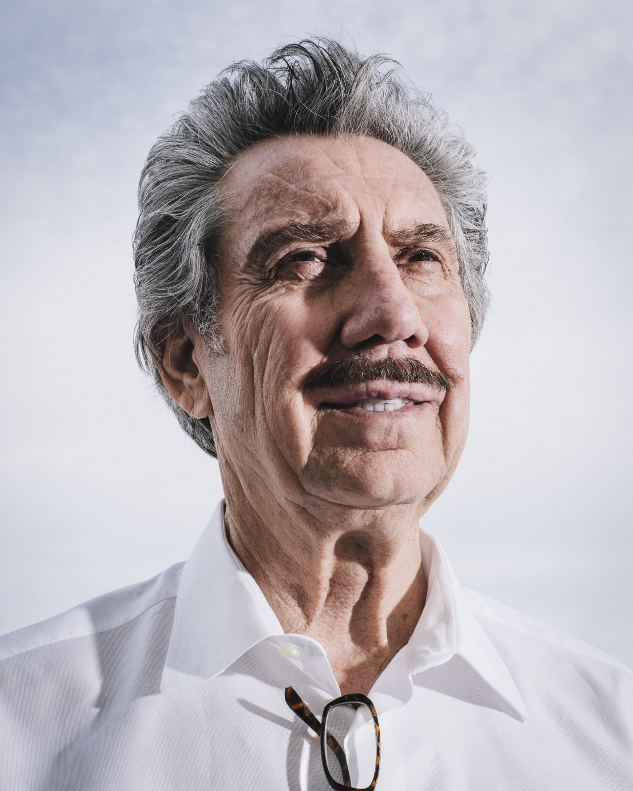 Billionaire and future space landlord Robert Bigelow for Bloomberg Businessweek.