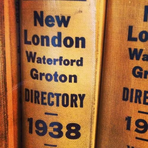 Instapost  Excellent #old #typography. #helvetica #vintage #newlondon #newlondonct #waterford #groton: View…View Post