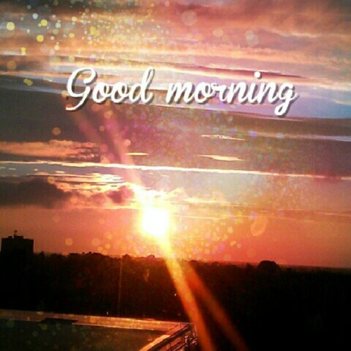 #instagood #instafix #instadaily #mornings #fridays #sunrise #days