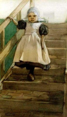 "windypoplarsroom:  Marcia Oakes Woodbury ""Little Dutch Girl"""