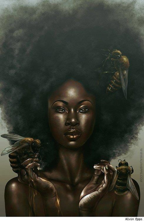 "Dremaine Ellis says, ""Like Bees to HoNeY"""