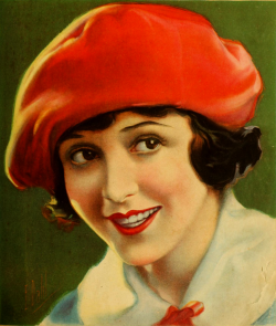 theloudestvoice:  Florence Vidor, cover of Motion Picture Classic magazine, June 1920
