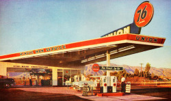 rogerwilkerson:  Minute Man Service - Union Oil - 1954