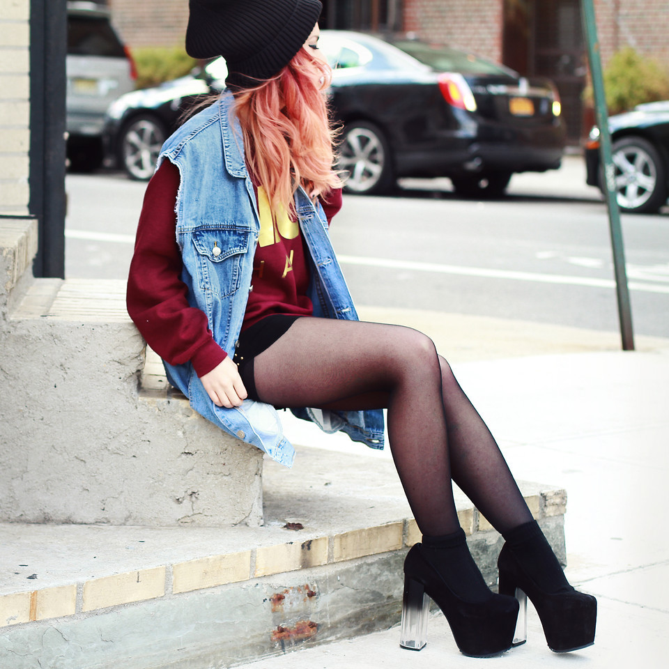 lookbookdotnu:  Cheap Monday. (by Lua P)