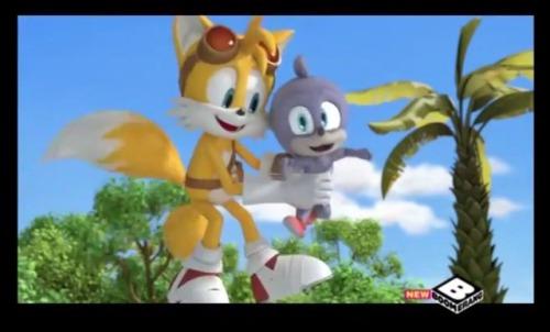 Sonic in cartoon network