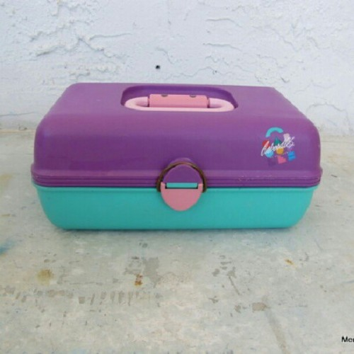 #vintage #80s #caboodle up in my shop http://etsy.me/xUEOLd