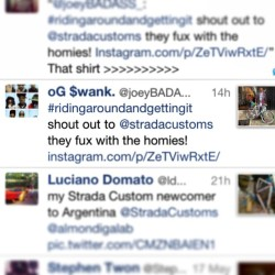 Shout out to the homie @ogswank Joey Bada$$ and the rest of the #proera crew for the love #stradacustoms #support #beastcoast #thefutureofthisrapshit