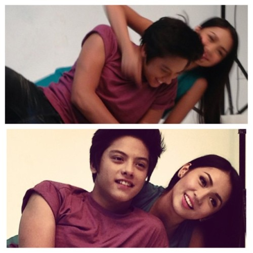 iheartkathniel2:  Omgeee!😊 LOVE ME MAYBE?❤ This March na guys! Who's excited?😁 © @dominicrea ✌ #kathnielmovie #lovememaybe #kathniel #kathrynbernardo #danielpadilla love lots😍😘❤👦👸💋 KILIG MUCH!