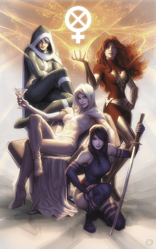 yojabari:  X Women created by Alex Garner