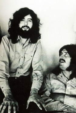 "babeimgonnaleaveu:  ""John Bonham was an extraordinary musician – head and shoulders above anyone around him. He had a definite vision of the drums, and how they should be played and how they would fit in with a band. It's without doubt that his technique was beyond everybody else's, and that's why he's so looked to, and looked back to with such reverence and love."" - Jimmy Page"