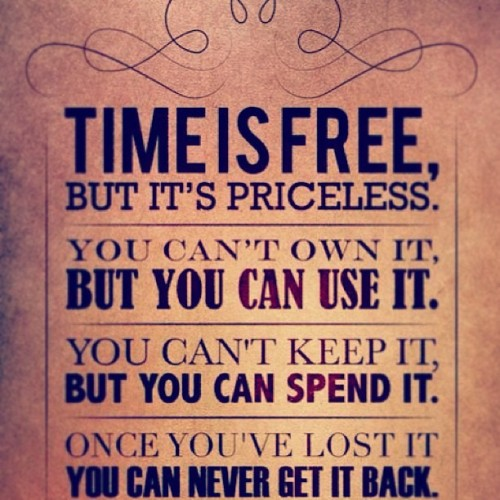Since so many of you have been having the feels for time. #quote #time #coulda #woulda #shoulda #ticktick