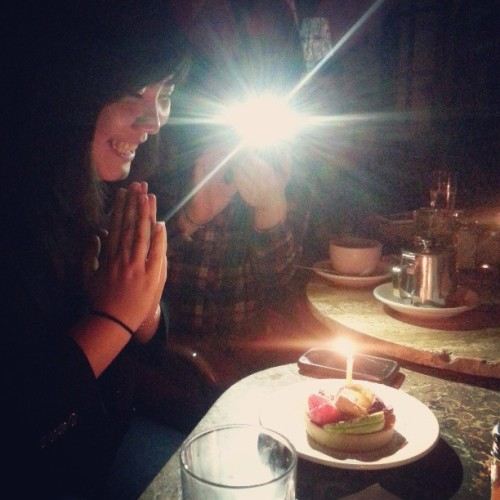 03202013 Flash + Wishes // #Birthday #Amigos @el2398  (at La Lanterna di Vittorio)