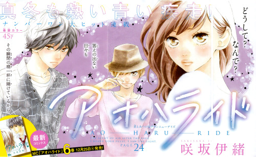 Ao Haru Ride [Page 24] by Chibi Manga has been released! and is available for download on their forum.