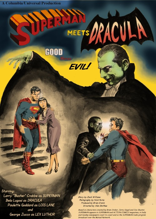Superman meets Dracula
