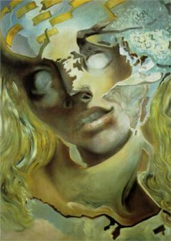 alternative-imagery:  Exploded Head - Salvador Dali
